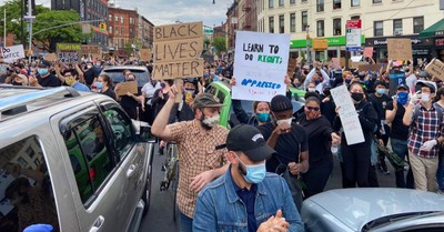A protest in Brooklyn, Will Evangelical leaders talking about racism last?