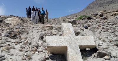 University of Baltistan Skardu, 1,200 year old marble cross is found in Pakistan