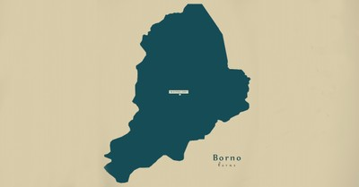 Borna state map, 5 Christians executed in Nigeria