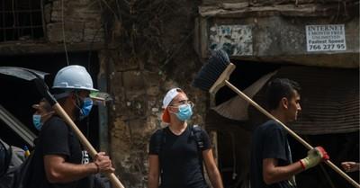 Clean up in Beirut, Samaritan's Purse sends supplies to Lebanon