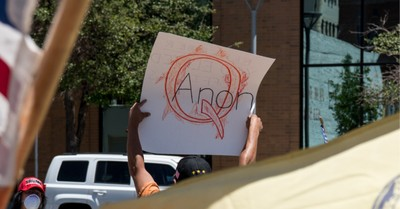 QAnon sign, Things Christians should know about QAnon