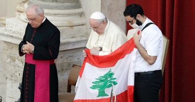 Pope Francis, Francis calls for a day of prayer for Lebanon