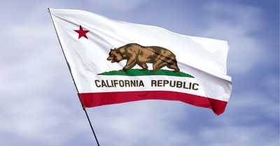 The California state flag, California passes a new law that loosens punishments for LGBTQ adults who have sexual relations with minors