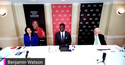 Ben Watson and Tulsi Gabbard, Watson and Gabbard call for US intervention in Nigeria