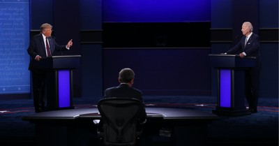 Trump and Biden, An analysis of the Presidential debate