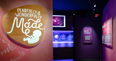 Fearfully and Wonderfully Made exhibit, Creation Museum reveals pro-life exhibit