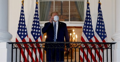 Donald Trump, President Trump is released from the hospital