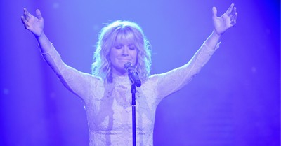 Natalie Grant, Grant thanks God for restoring her voice