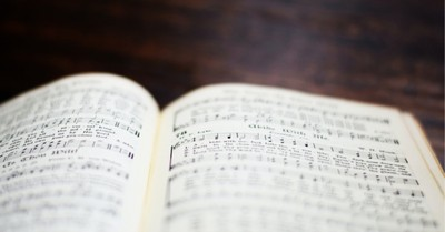 A hymn book, China forbids the photocopying of Christian material