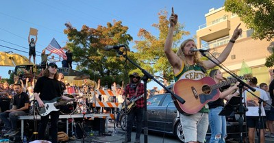 Sean Feucht, Feucht is slated to bring his worship protest to DC