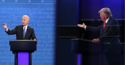 Biden and Trump, Trump and Biden present drastically different visions for America