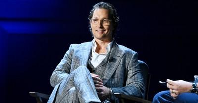 Matthew McConaughey, McConaughey says faith and science go hand in hand