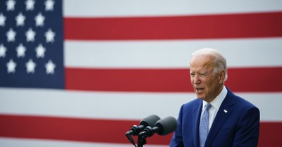 Joe Biden at Warm Springs, Biden quotes scripture and asserts that God is calling for unity