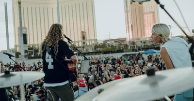 Sean Feucht's worship tour stop, Feucht's worship tour stops in Vegas over the weekend