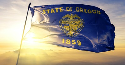 Oregon State flag, Oregon becomes the first state to decriminalize hard drugs