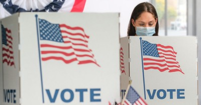 A woman voting, 13 pro-life women are elected