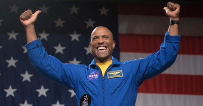 Victor Glover, Glover recently shared that he took with his a Bible and communion cups to space