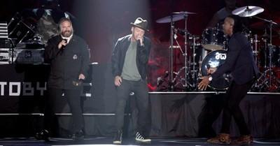 "DC Talk, DC Talk celebrates the 25th anniversary of their album ""Jesus Freak"""