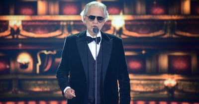 Andrea Bocelli, Bocelli shares that his mother was encouraged to have an abortion