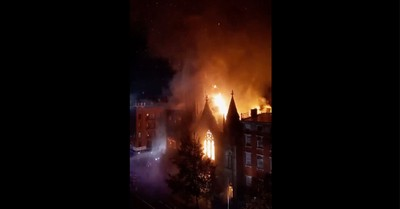 Middle Collegiate Church, A fire destroys Middle Collegiate Church and damages New York Liberty Bell