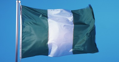 "Nigerian flag, Nigeria is added to the state department's list of ""countries of particular concern"""