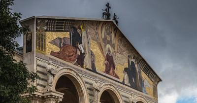 Church of Gethsemane, The Church of Gethsemane is set on fire