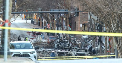 the aftermath of the Christmas explosion in Nashville, Nashville police officer says God told him to walk away from an RV moments before it exploded