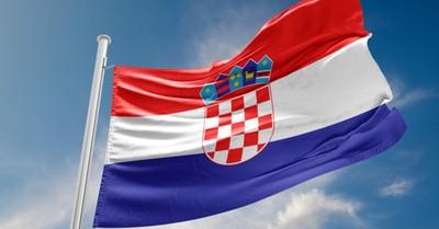 Croatian flag, Croatia was hit by a magnitude 6.3 earthquake