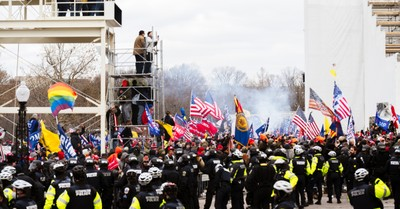 Rioters in DC, Christian Leaders respond to the storming of the US Capitol
