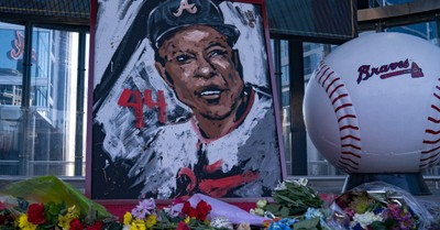 A Memorial for Hank Aaron in Atlanta