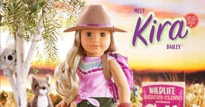 Kira the American Girl doll, America Girl names doll with a lesbian guardian.