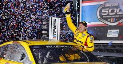 Michael McDowell, McDowell wins the Daytona 500