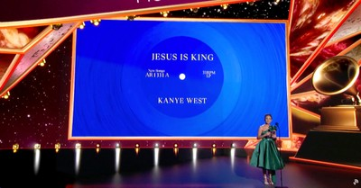 Jesus Is King winning at the Grammy's, Kanye West and Dolly Parton win big at the Grammy Awards