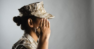A military person, Pentagon Issues New Policies Allowing Transgender People to Openly Serve in the Military
