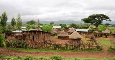 Ethiopian village, at least 7 million face threats of starvation across East Africa