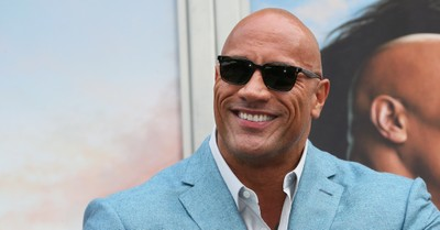 The Rock, The Rock says he may consider running for President