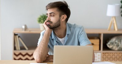 A bored guy, Christians are acting like they are bored with God
