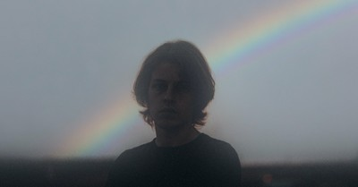 A guy with a rainbow in the background, The Rise and Triumph of the Modern Self