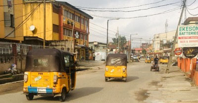 A Nigerian street, Christians killed and kidnapped in an attack on a worship service in Nigeria