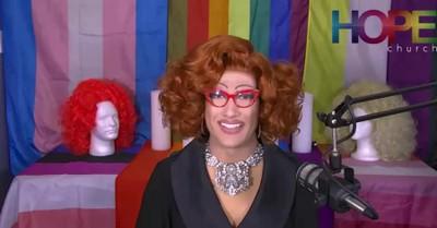 A Drag Queen, Church Celebrates Drag Queen Sunday