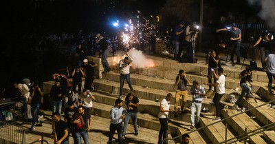 Temple Mount, Nearly 300 injured in riots in Israel