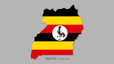 Uganda flag and map, Pastor Slain after Leading Muslims to Christ at Religious Debate