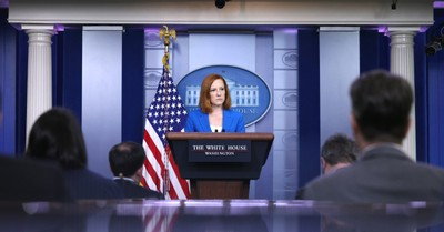 Jen Psaki, Psaki says Biden Is Committed to 'Codifying Roe' Regardless of Supreme Court Action