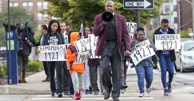Rev. Robert R.A. Turner, Black Church leaders call for reparations for Tulsa massacre
