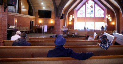 A mostly empty church, more churches closed than opened in 2019