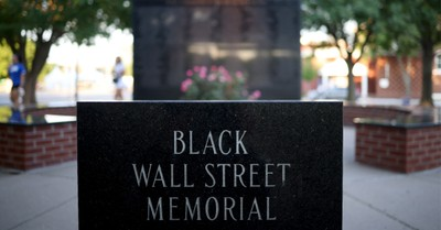 Black Wall Street Memorial