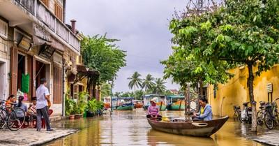 a river in Vietnam, a Vietnamese house church organization is facing prosecution following a COVID-19 outbreak