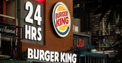 Burger King sign, Burger King mocks CFA in tweet pledging to donate to pro-LGBT organization in June