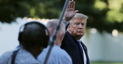 Donald Trump, Report finds that Lafayette Park was not cleared out for Trump