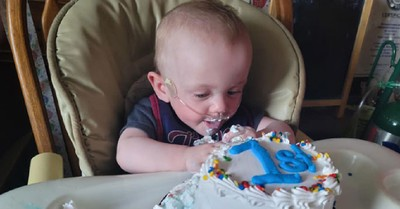Baby Richard Hutchinson, Hutchinson defies odds after surviving being born more than 130 days premature